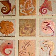 Ganesh Wall Tile